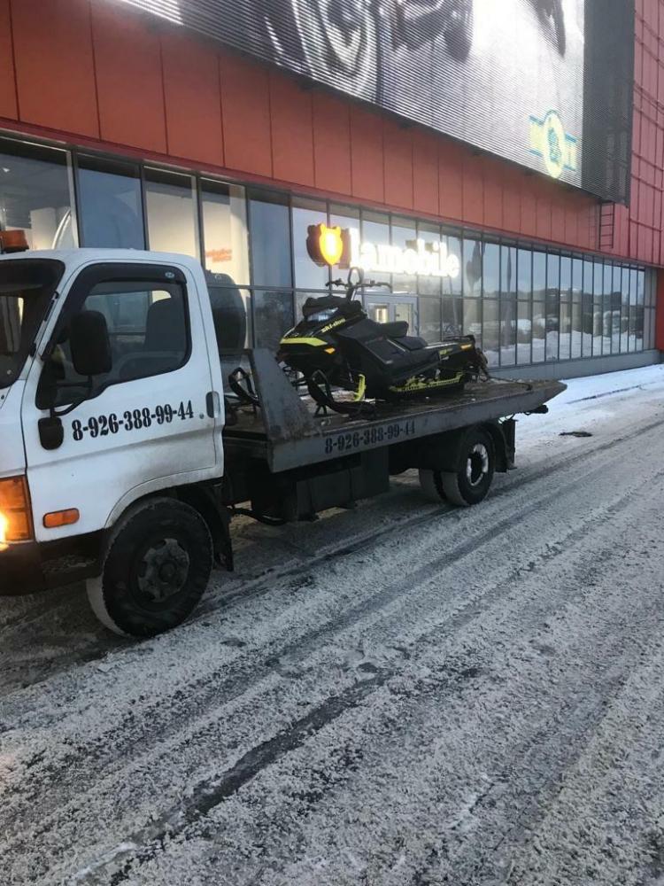 Транспортировка снегохода  г.Москва - Раменский район