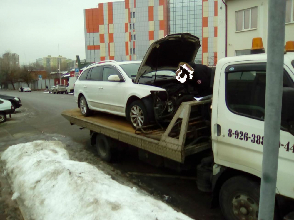 Эвакуация автомобиля г.Жуковский — г.Москва, Сормовская улица