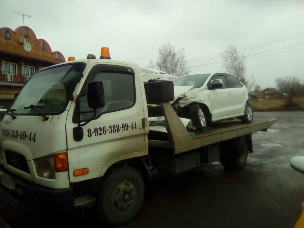 Эвакуация автомобиля Новорязанское шоссе — Октябрьский проспект, г.Люберцы