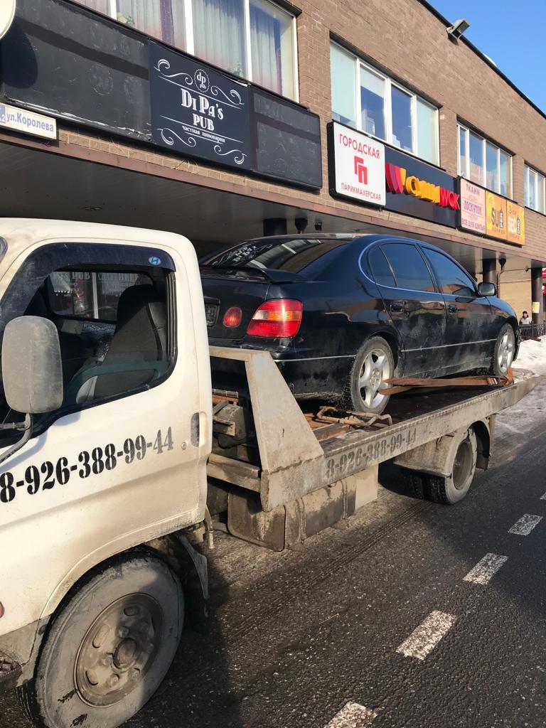 Эвакуация легкового автомобиля Новорязанское шоссе — г.Жуковский