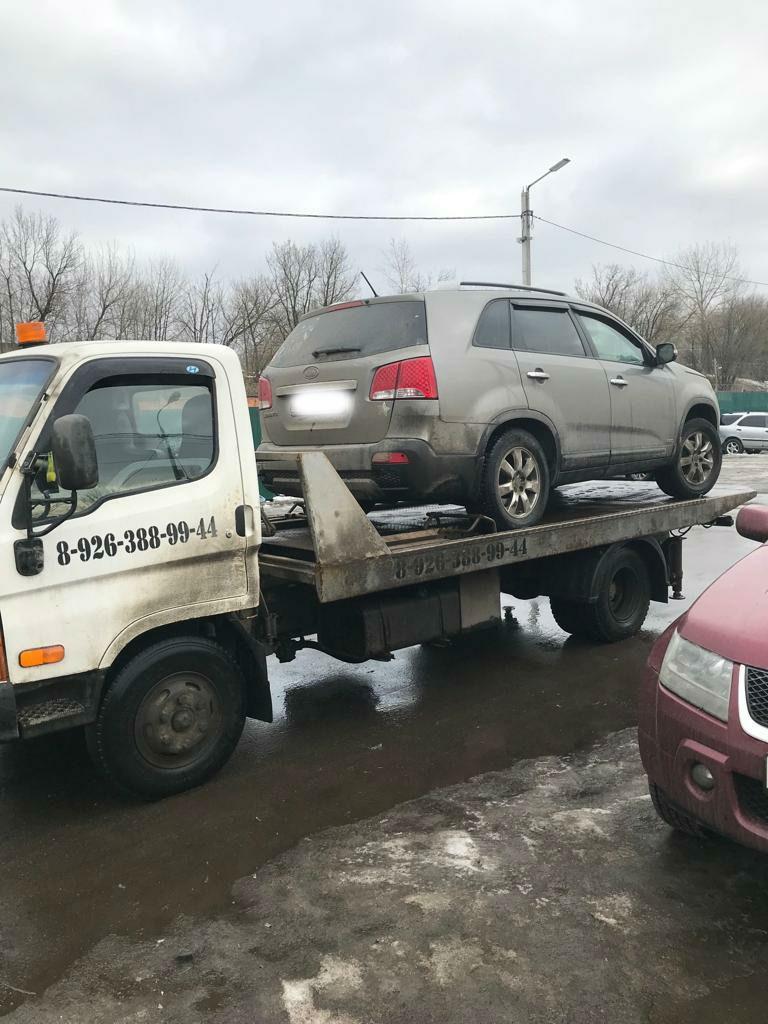 Эвакуация автомобиля по г.Жуковскому.